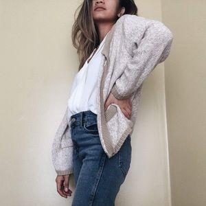 New York & Company Sweaters - NY&C Tan Cardigan